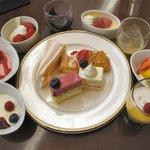 ペストリーショップ ラ・モーラ - 2009年3月 デザートブッフェの主な品