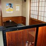 マルシゲ - 昭和時代の懐かしい店内