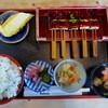 とうふ料理吉野 - 料理写真:菜めし田楽定食(梅)+揚げ出し豆腐