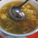 楽山 - 玉子スープ 500円