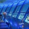 スカイラウンジ「空」KUU - 内観写真:夜景を見ながらカウンター席で