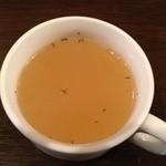 マリンバ カフェ - ランチスープ。味はふつう〜