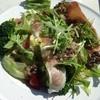 長門牧場レストラン コリーヌ - 料理写真:お昼。生ハムサラダ。