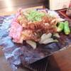 八角亭 - 料理写真:朴葉味噌です。