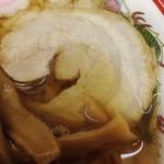 岡崎麺 - ラーメン 餃子3ヶ 2013年10月