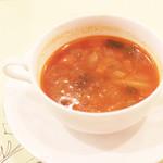 オステリア ガウダンテ - スープ '13 10月上旬