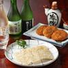 丁子屋 - 料理写真:静岡の味『焼津ハンペンフライ』と『用宗産たたみいわし』