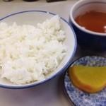 小藤食堂 - ご飯(小小)