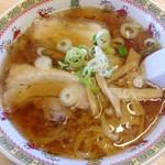 万福 - 料理写真:手打ちラーメン 2013年10月