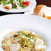 URIBO - 料理写真:お店を代表する味『名物! とこぶしとキャベツのスパゲッティ』