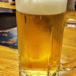 寿苑 - ビールはサッポロ♪