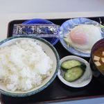 たつ食堂 - 2013.10 朝定食 ¥450