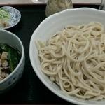 栄屋うどん店 - 肉汁うどん(昼)