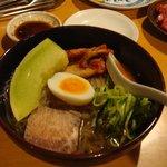 楓庵 - スープと具の調和がおいしい冷麺