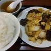 東興飯店 - 料理写真:肉ときくらげと玉子の野菜イタメ:850円