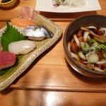 楓庵 - うどん屋さんの握り寿司
