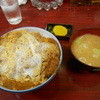 山之内 - 料理写真:農大かつ丼 とん汁