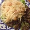 タイ料理ハウス ピサヌローク - 料理写真:ソムタム(パパイヤのサラダ)