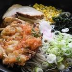 恋路茶屋 - 三種合体麺