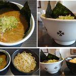 ぶっこ麺らーめん - ぶっこ盛りトッピングした「ぶっこめんラーメン」(多治見市)食彩賓館撮影