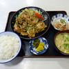 朝日屋食堂 - 料理写真:「しょうが焼定食」780円