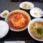 彩菜・中華ダイニング - 料理写真:かに玉ランチ780円+ミニラーメン100円