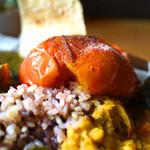 森林食堂 - 焼きトマト(トッピング)