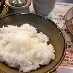 しゃぶ亭 - ご飯おかわり自由
