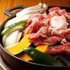 駱駝家 - 料理写真:臭みの全くないラム肉の「ジンギスカン」