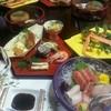 古登富貴 - 料理写真:3000円のコース料理。写真の他に2段の蒸籠(蟹グラタンと茶碗蒸し←ウニ入り♪)そして〆にお椀(素麺←季節によって変わる) 大満足の美味しさでした!