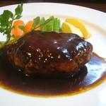 古時古時 - 料理写真:一番人気の特製ハンバーグ