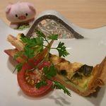 ちかゑ - お野菜のキッシュ