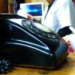 埼陽軒 - 黒電話があった!