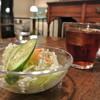 ビストロ小泉 - 料理写真:ハヤシライスについてきたミニサラダ