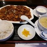 小肥羊 - 本場!大辛麻婆豆腐ランチ 850円 2013.10