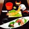 魚魚屋 - 料理写真:刺身盛合せ定食 ジャンボ海老フライ付き 2230円