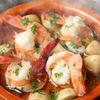 ローズラベル - 料理写真:人気の海老のアヒージョ