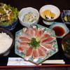千隆 - 料理写真:ランチメニュー:いわしの刺身定食