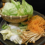 しゃぶしゃぶ温野菜 - 国産野菜盛り