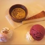 ウェザーコックカフェ - デザートプレート