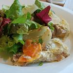 ラ・トォルトゥーガ - 3)サバのオーブルー、マスタード風味