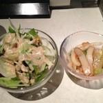 オーキッド - サラダと小鉢