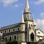 まるなか本舗 JR佐世保店 - 三浦町カトリック教会です。