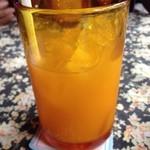 ペパーミントハウス - ランチのドリンク オレンジジュース