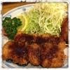 とんかつ つかさ - 料理写真:本日のランチ ヒレ肉の串カツ定食 ¥900