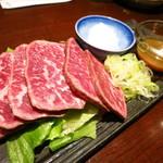 宴楽 - 葉山牛のたたき(980円)
