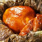 中華香彩JASMINE - 杭州名菜 乞食鶏 丸鶏の粘土包み焼き (要予約3日前まで)