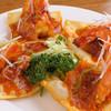巧匠 - 料理写真:大ぶりの海老が乗った『大正海老のチリソース』一口でどうぞ!