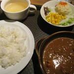 ワインカフェ下北沢 - チキンカレー 880円