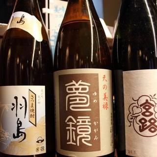 料理にぴったりの日本酒も豊富にご用意しております♪